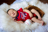 Alex Rodriguez newborn session